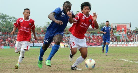 Persibangga Purbalingga Kalahkan Persib Bandung