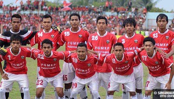 Persibangga vs Persib Bandung