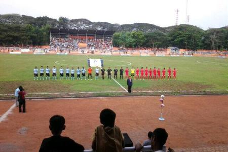 Kick Off Persenga vs Persibangga
