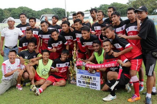 Persibangga Runner Up Bupati Cilacap Cup 2015